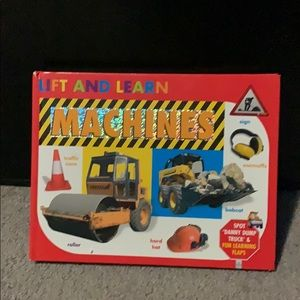 Other - Lift & Learn Machines Children's Book Pre-owned